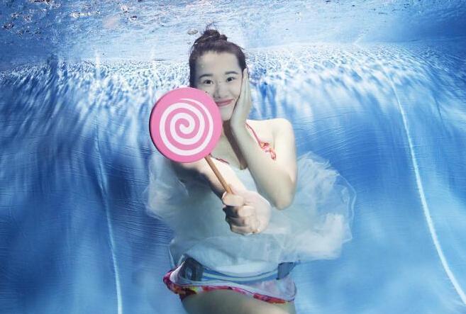 福建大学生水下拍摄