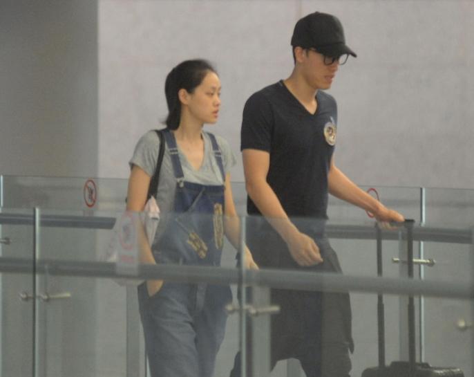 刘翔与女友吴莎