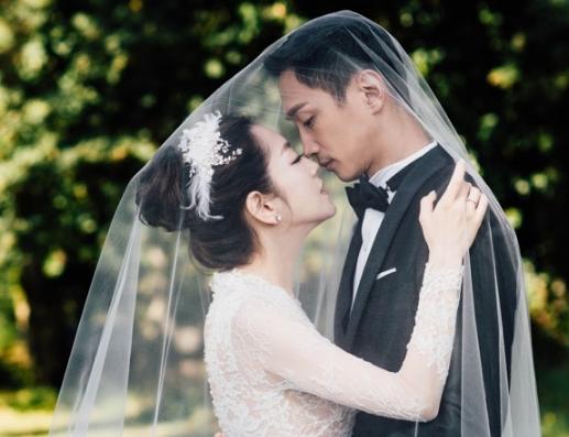 杨千霈婚纱照