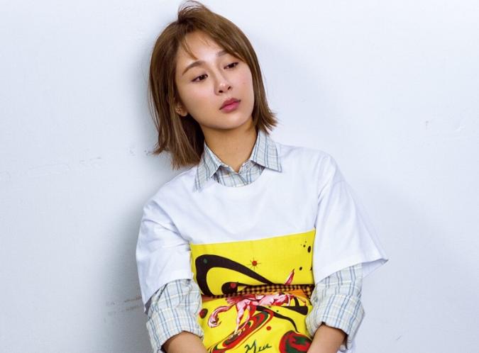 杨紫挑战裸妆 大片诠释时尚新态度