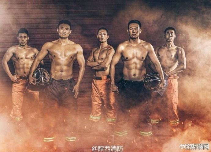 中国消防员台历在日本狂吸粉 被赞太帅了