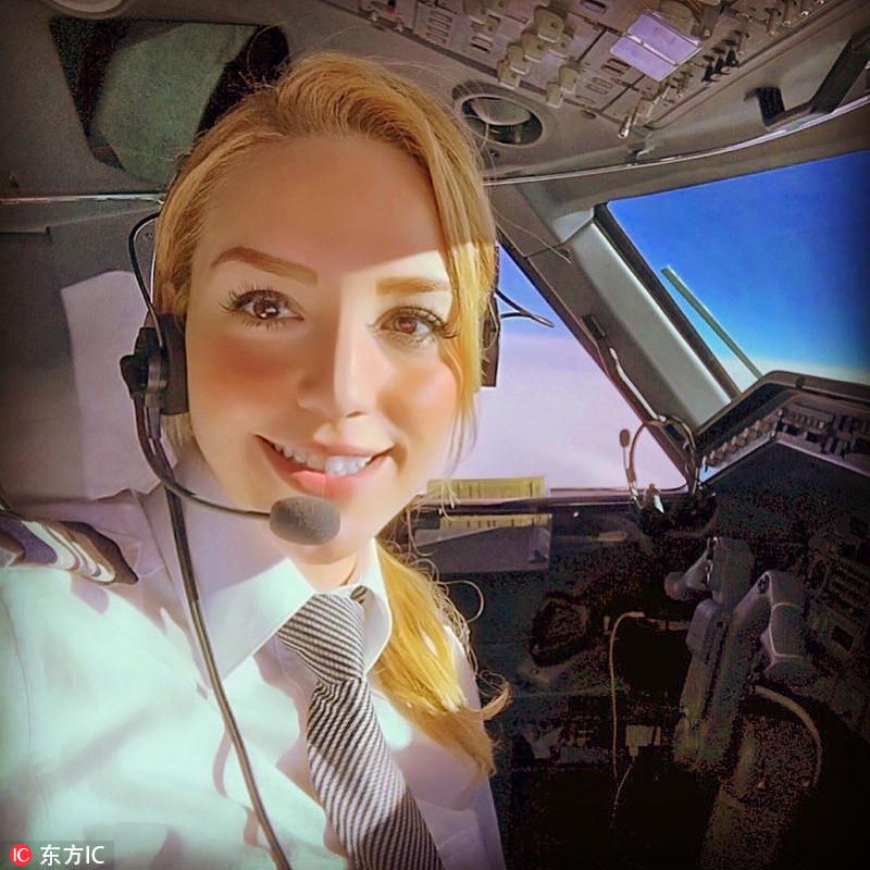 美女飞行员为名流做专职司机羡煞旁人