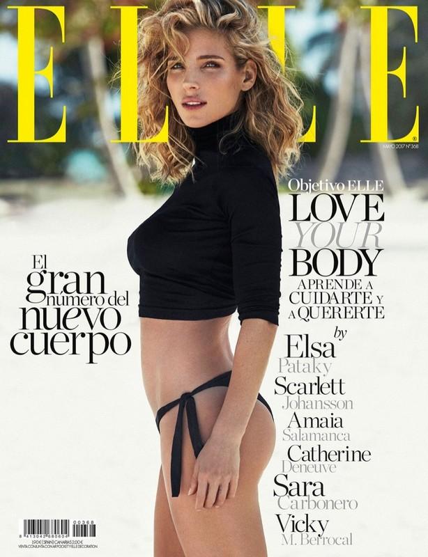 西班牙女星埃尔莎·帕塔奇登ELLE