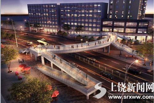 市民盼广场南侧建人行天桥 部门:正筹建