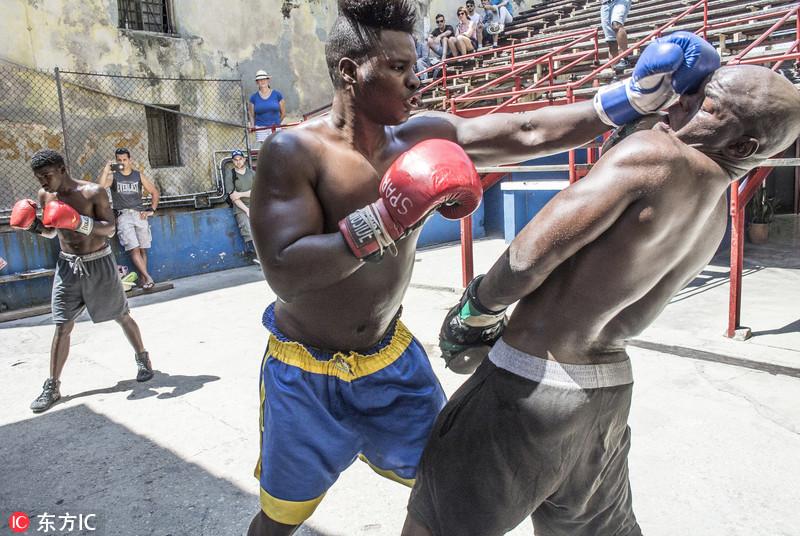 走进古巴拳击馆 窥探拳击强国的炼成