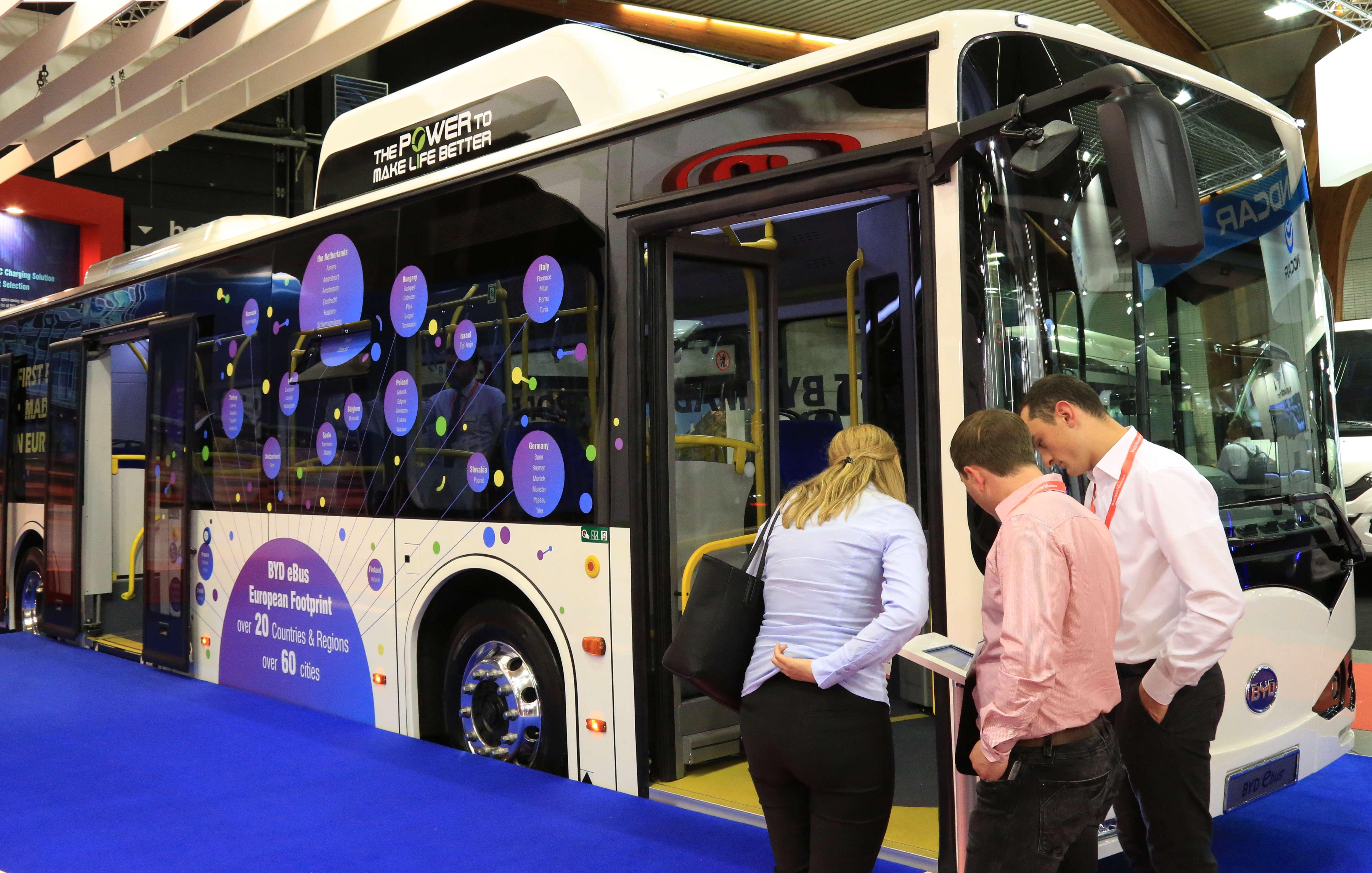 中国新能源客车集体发力欧洲市场