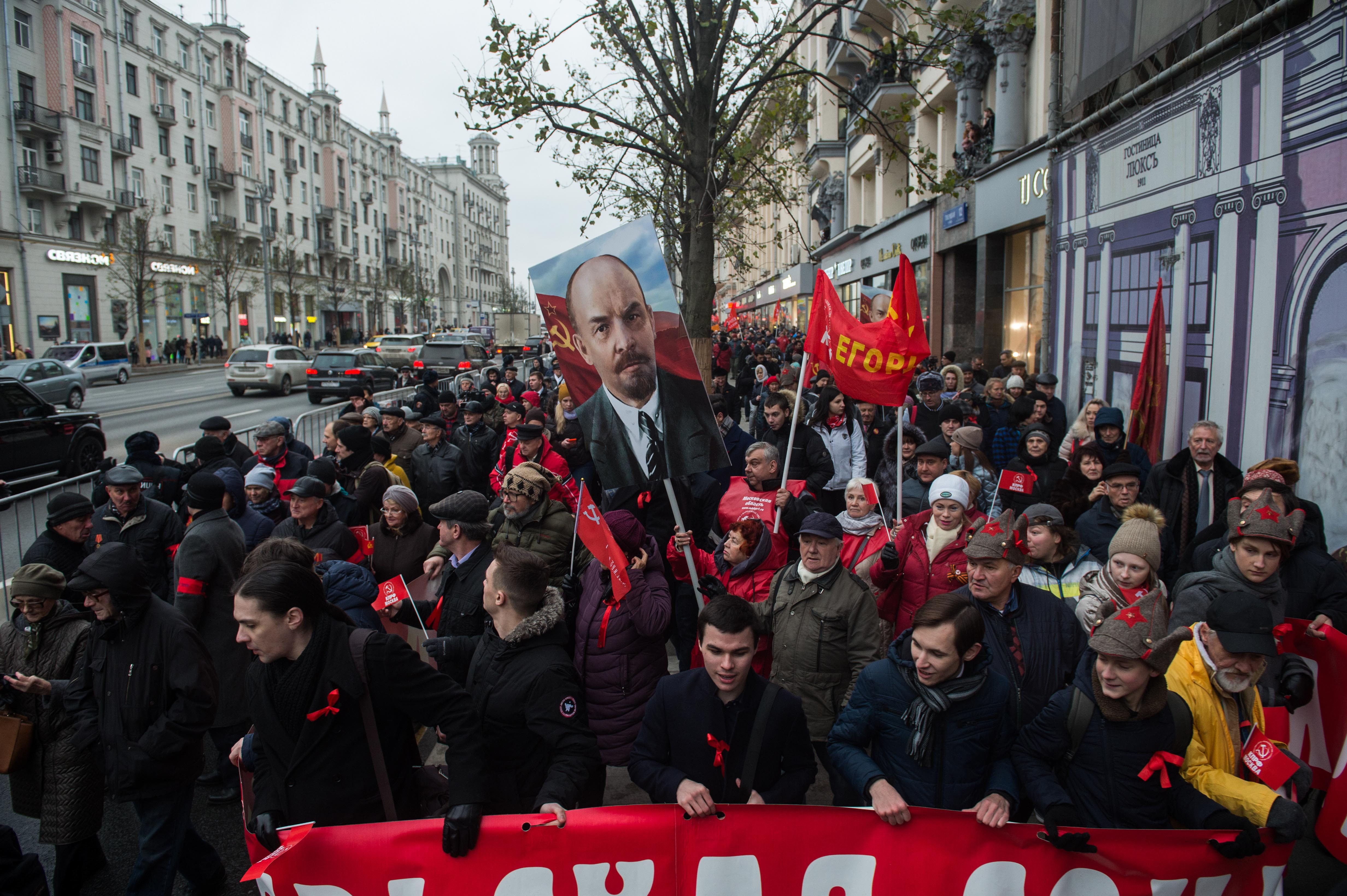 俄罗斯纪念十月革命100周年