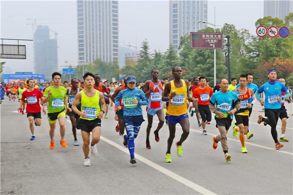 2017上饶国际半程马拉松赛圆满举行