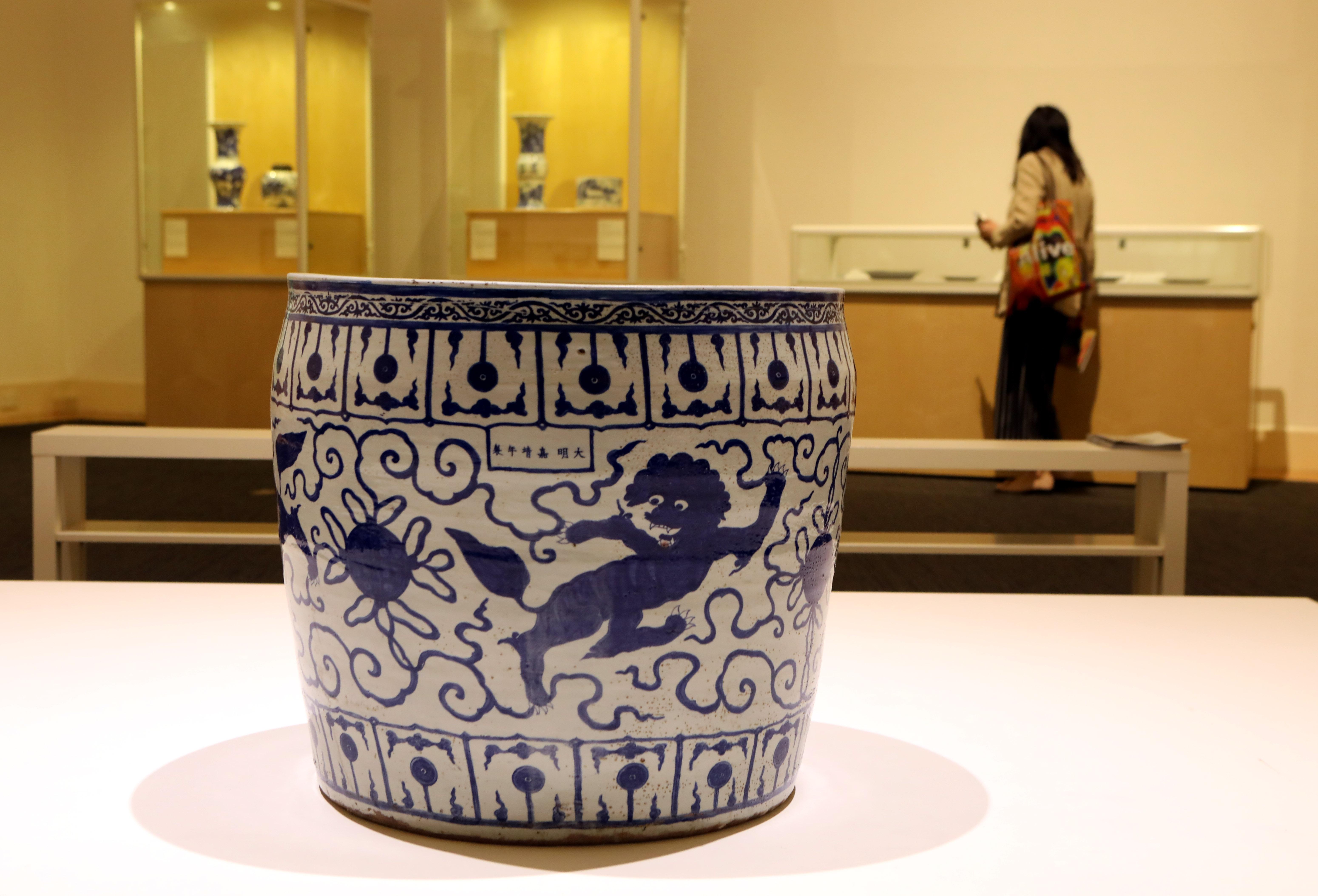 香港大学呈献明清陶瓷珍品展