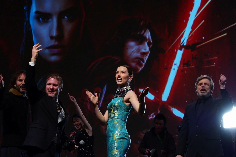 《星球大战:最后的绝地武士》中国首映礼在沪举行