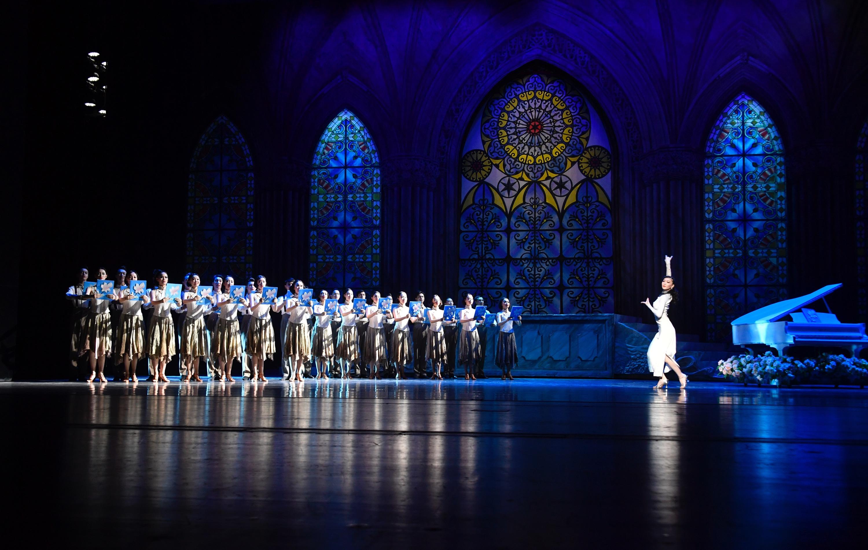 芭蕾舞国标舞舞剧《海河红帆》新版在国家大剧院公演