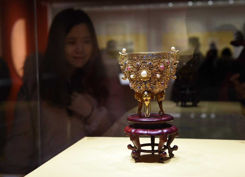 """""""走进养心殿——大清的家国天下""""展览在南京博物院开幕"""