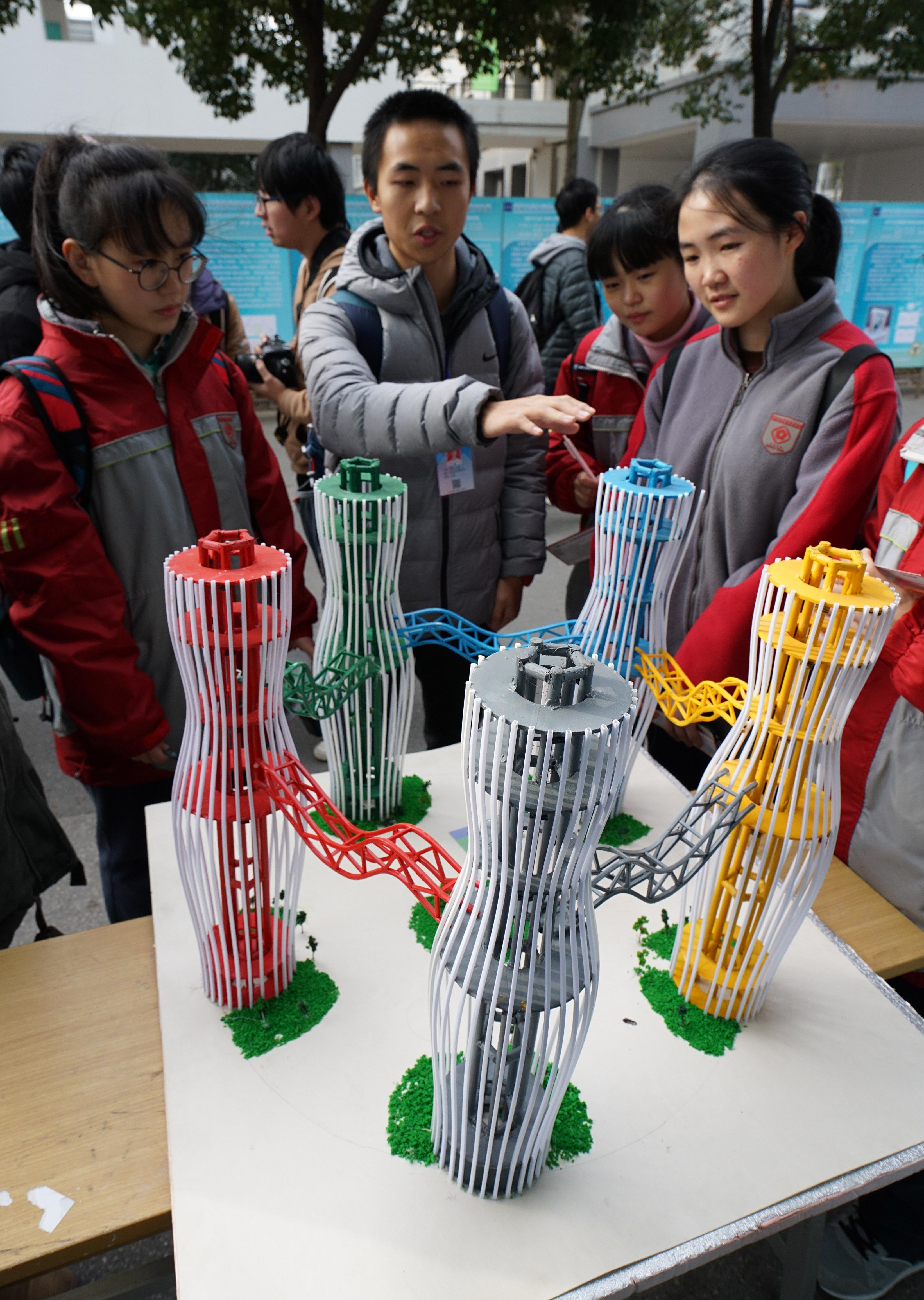 东南大学举行大学生创新创业成果展示会