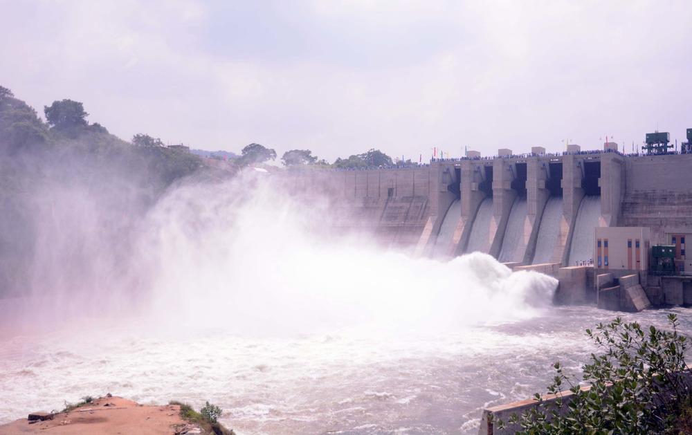 中企承建斯里兰卡最大水库项目举行竣工移交仪式
