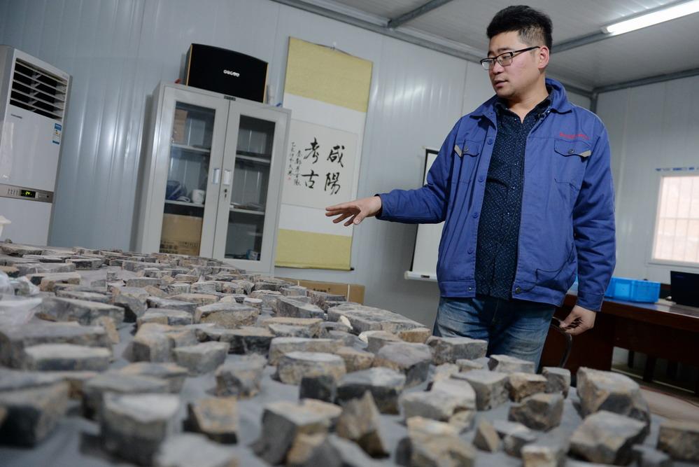 陕西首次发现秦代大型国家府库遗址