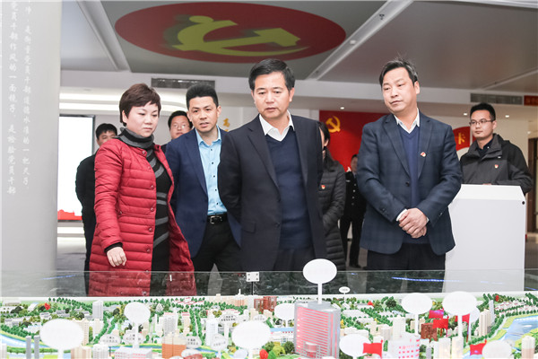 马承祖在信州区调研时强调  深入贯彻落实党的十九大精神 在高质量发展中发挥典型示范作用