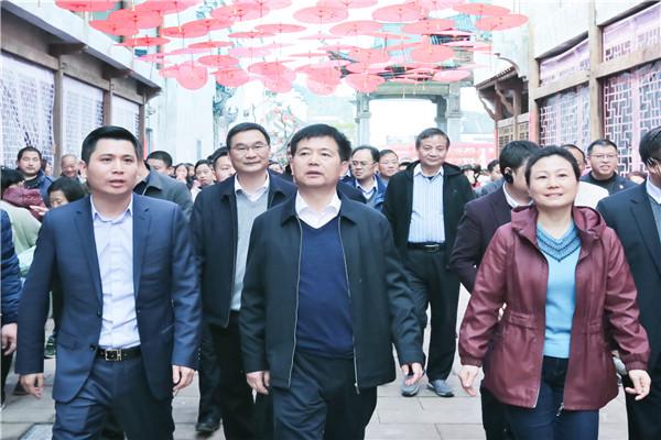 婺源三清山接受全市经济社会发展和党的建设情况巡查