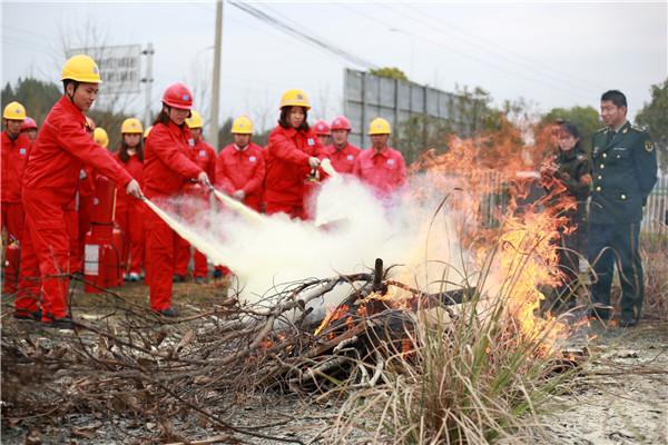 消防培训进企业