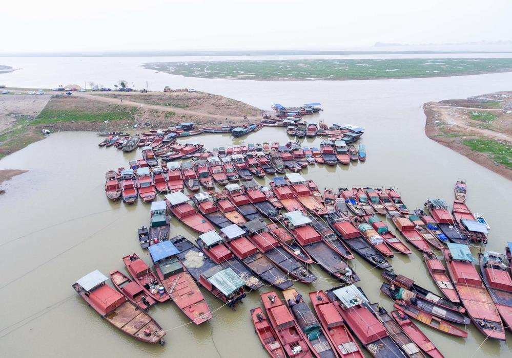 鄱阳湖进入第17个春季禁渔期