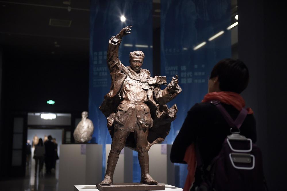 铸时代篇章——青年雕塑家作品展在京举行