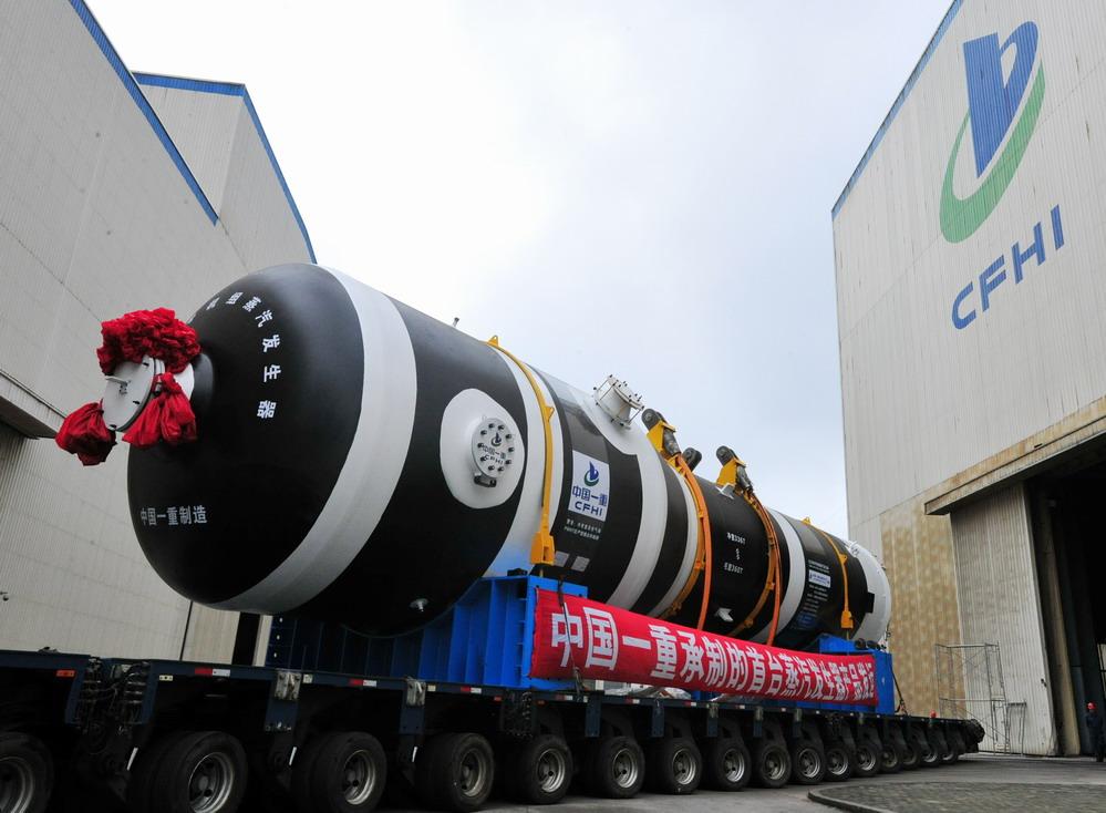 百万千瓦级核电蒸汽发生器在中国一重制造完成