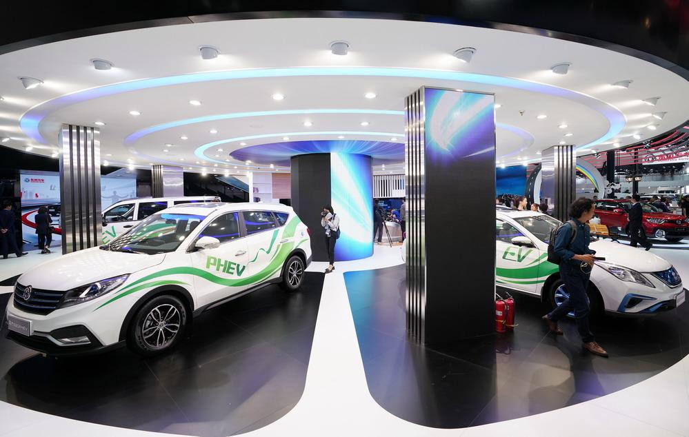 北京国际车展拉开序幕