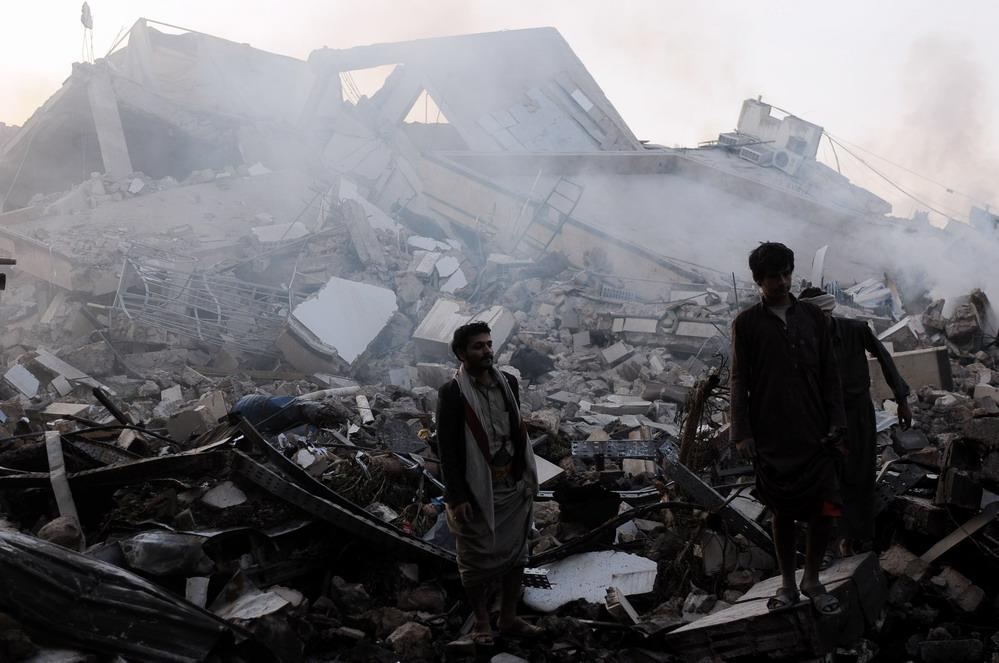 也门首都萨那遭空袭