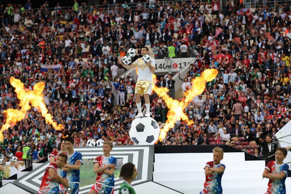 俄罗斯世界杯开幕