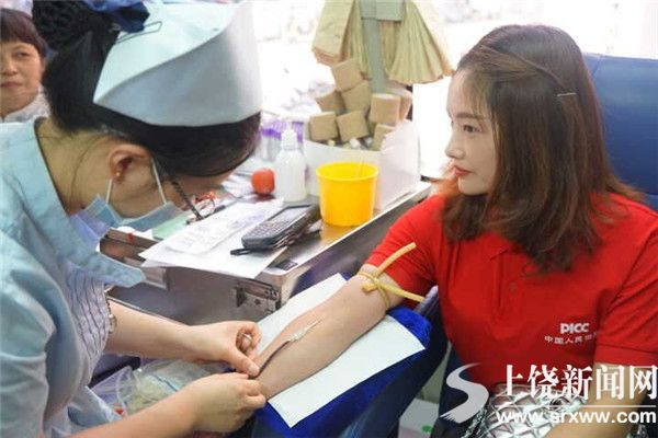 """捐献热血 分享生命  ——我市举办""""6·14世界献血者日""""大型公益活动"""