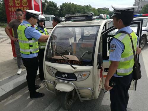 男子驾驶超标电动车被行政拘留10日
