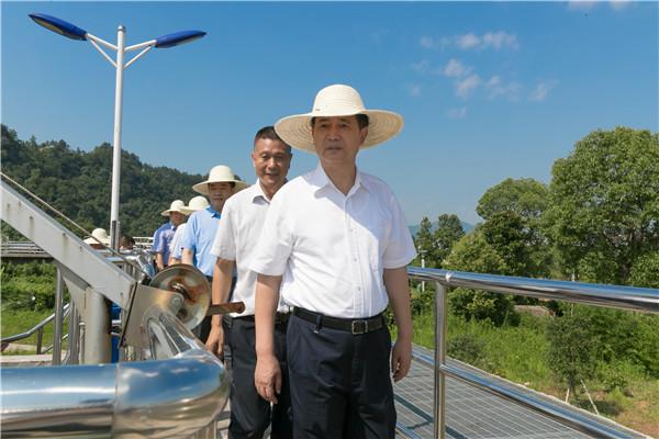 马承祖在广丰督导中央环保督察反馈问题整改工作