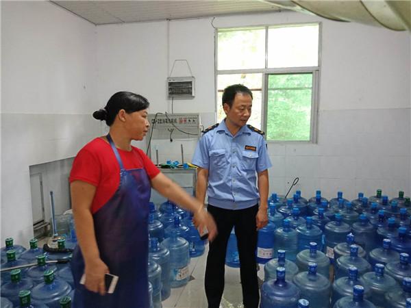 检查桶装水