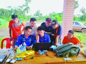 婺源蓝天救援队长:在老挝灾区传递中国真情
