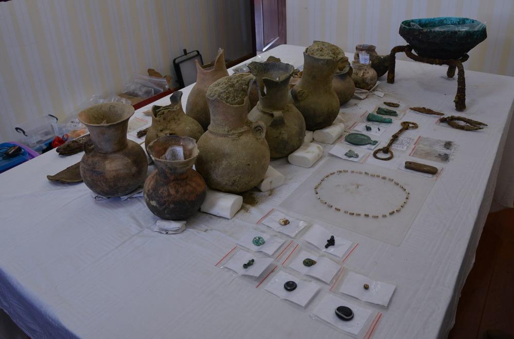 """考古专家:汉晋时期皮央东嘎一带曾与""""丝绸之路""""沿线互"""