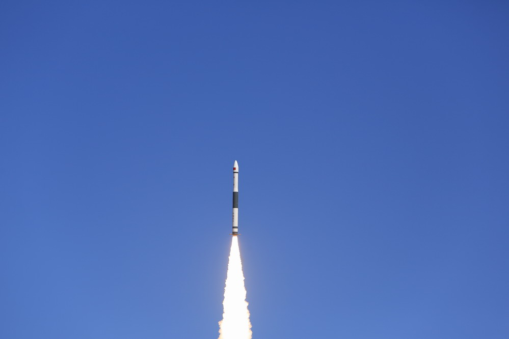 我国乐成发射微厘空间一号实验卫星