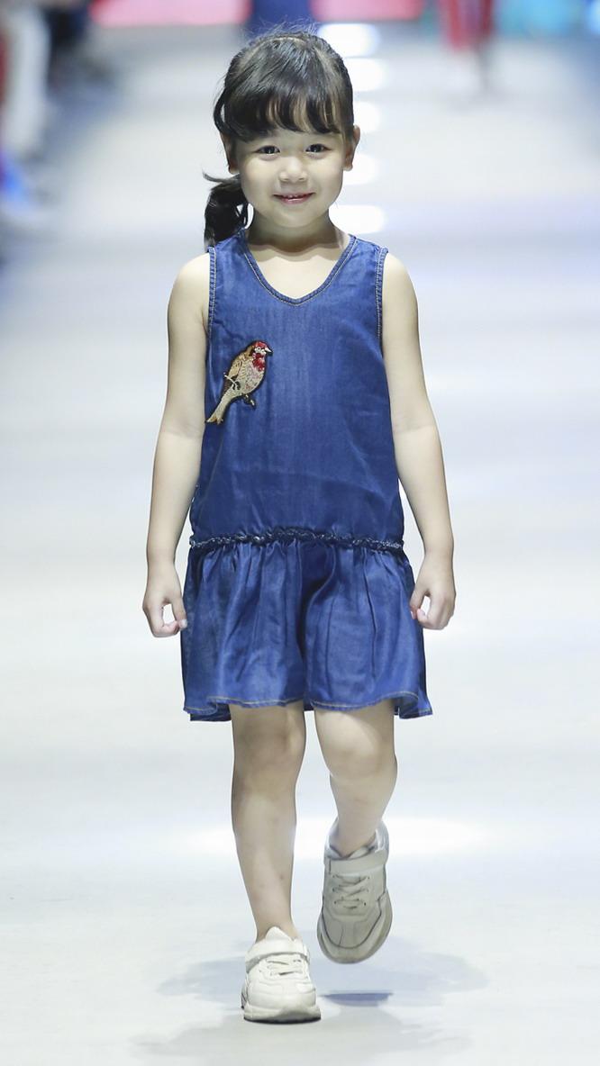 中国国际儿童时髦周在上海落下帷幕