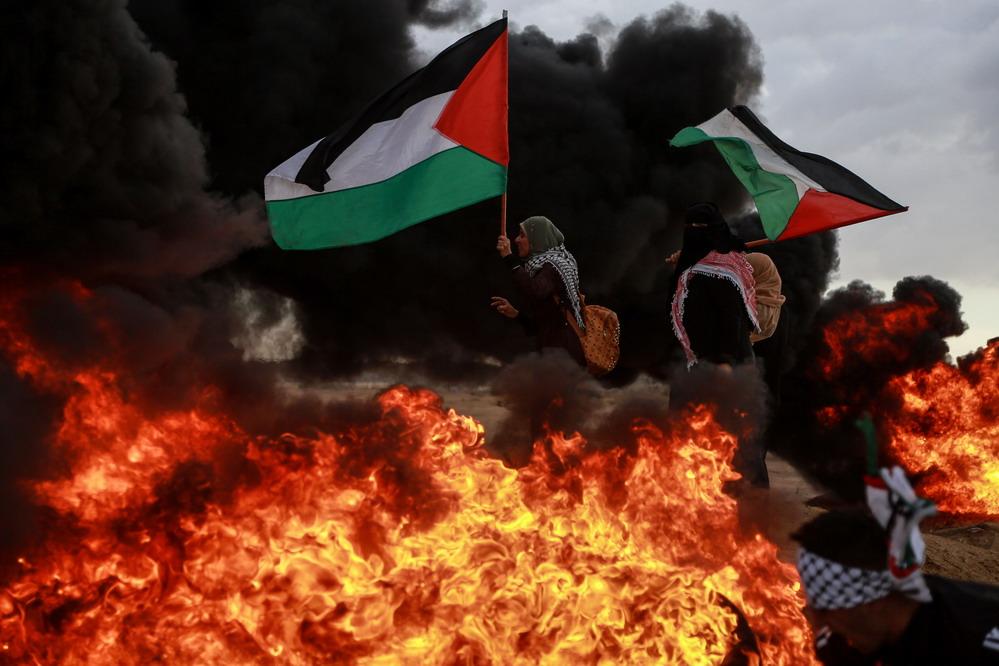 5名巴勒斯坦人在辩论中被以军兵士开枪打去世