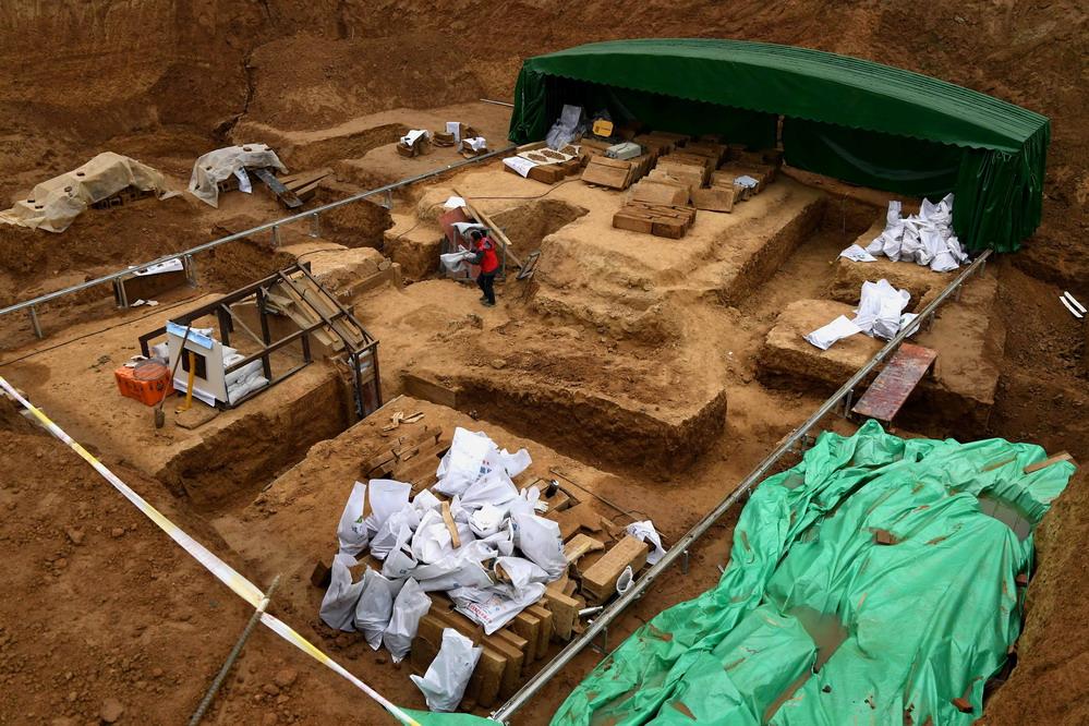 洛阳发明西汉大墓