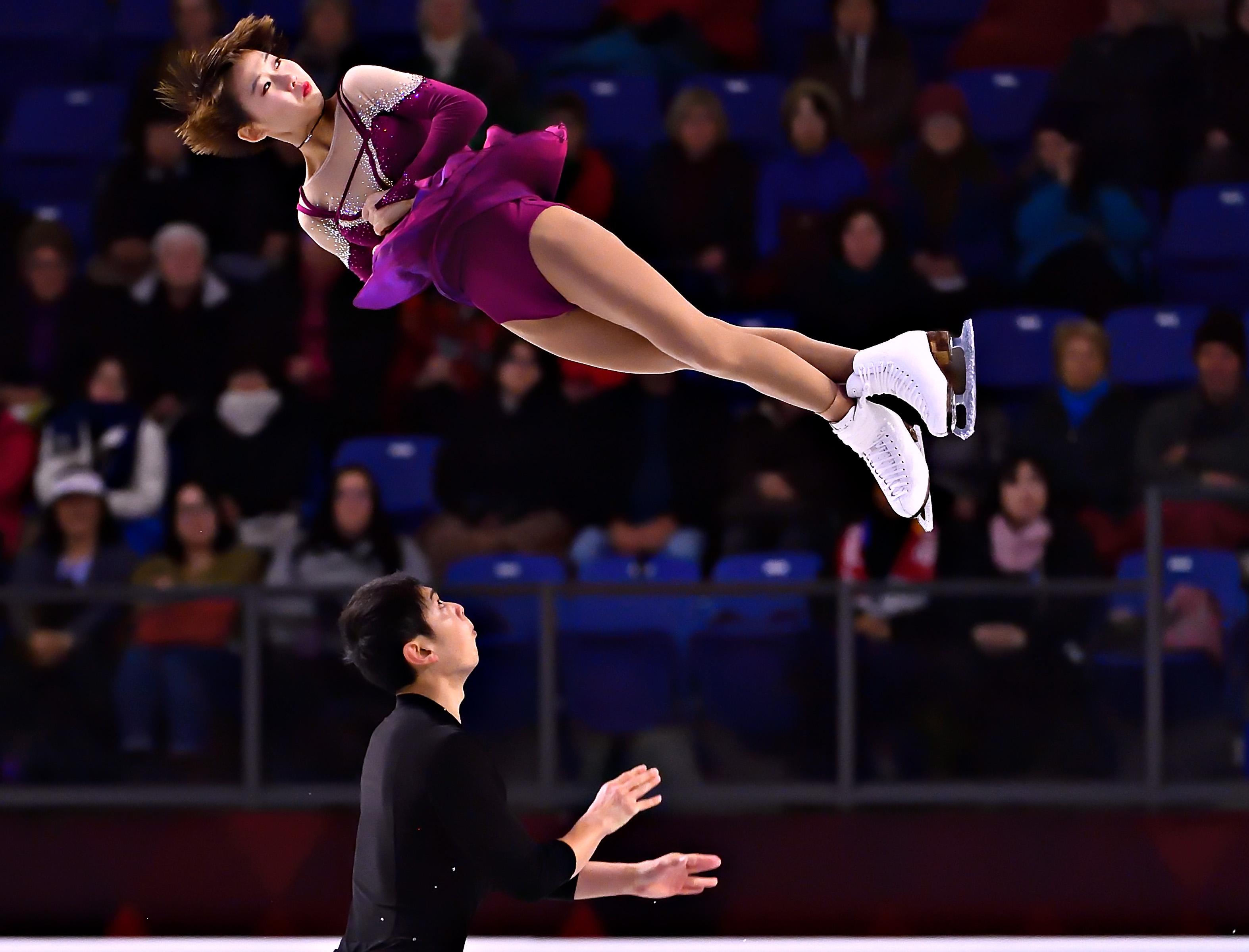 花样滑冰——大奖赛总决赛:彭程/金杨获双人滑亚军
