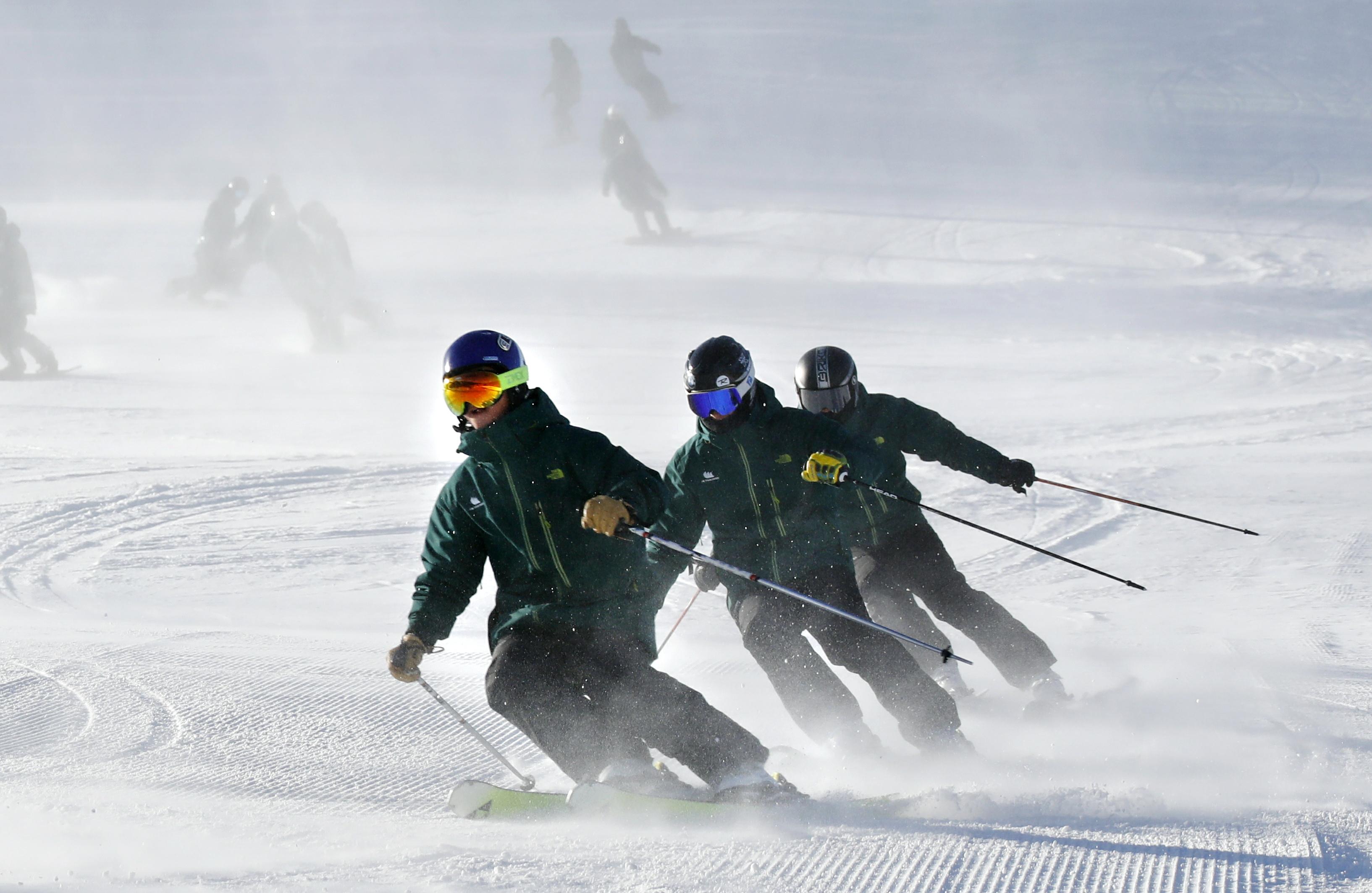 第十八届中国崇礼国际滑雪节开幕