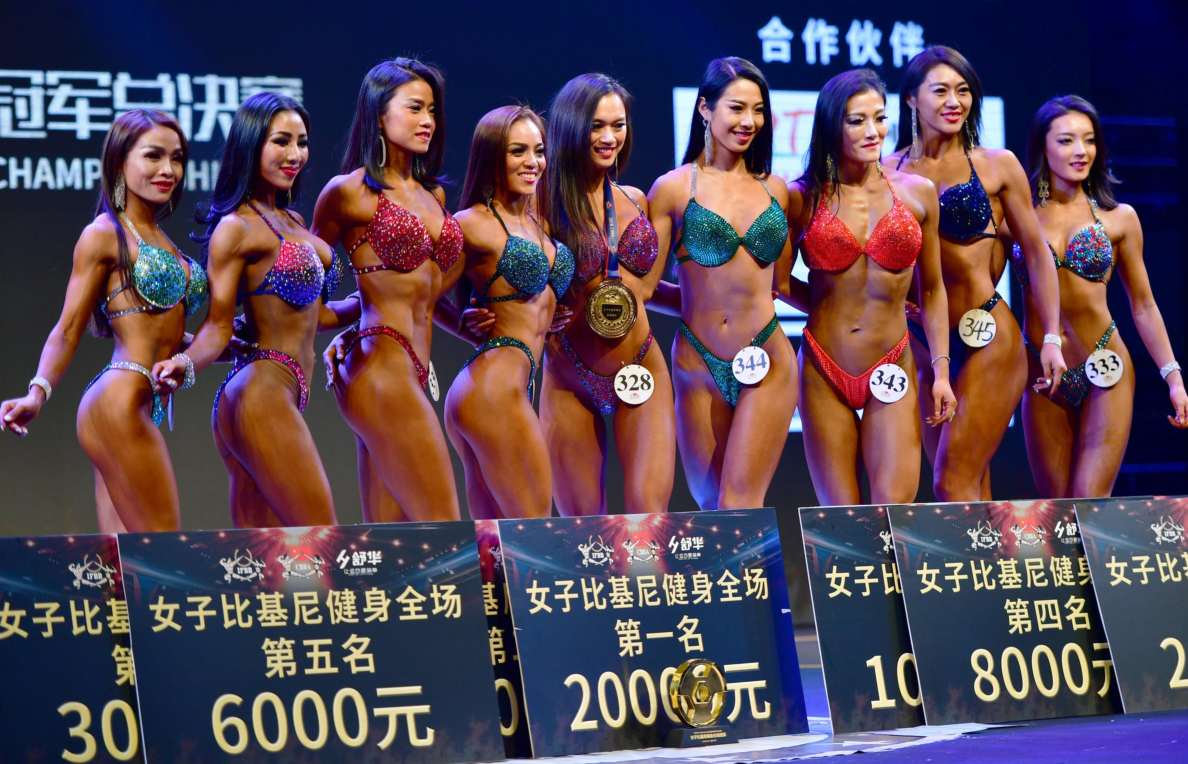 全国健美健身冠军总决赛在福建晋江举行