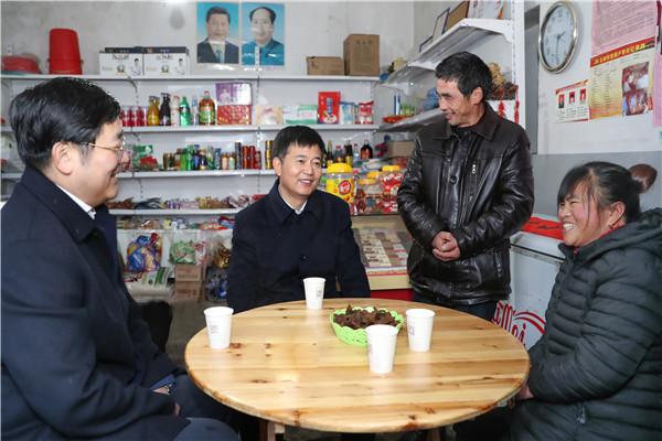 马承祖在玉山走访慰问时强调  重视并帮助困难群众搞好生产生活 让他们切身感受到党和政府的温暖