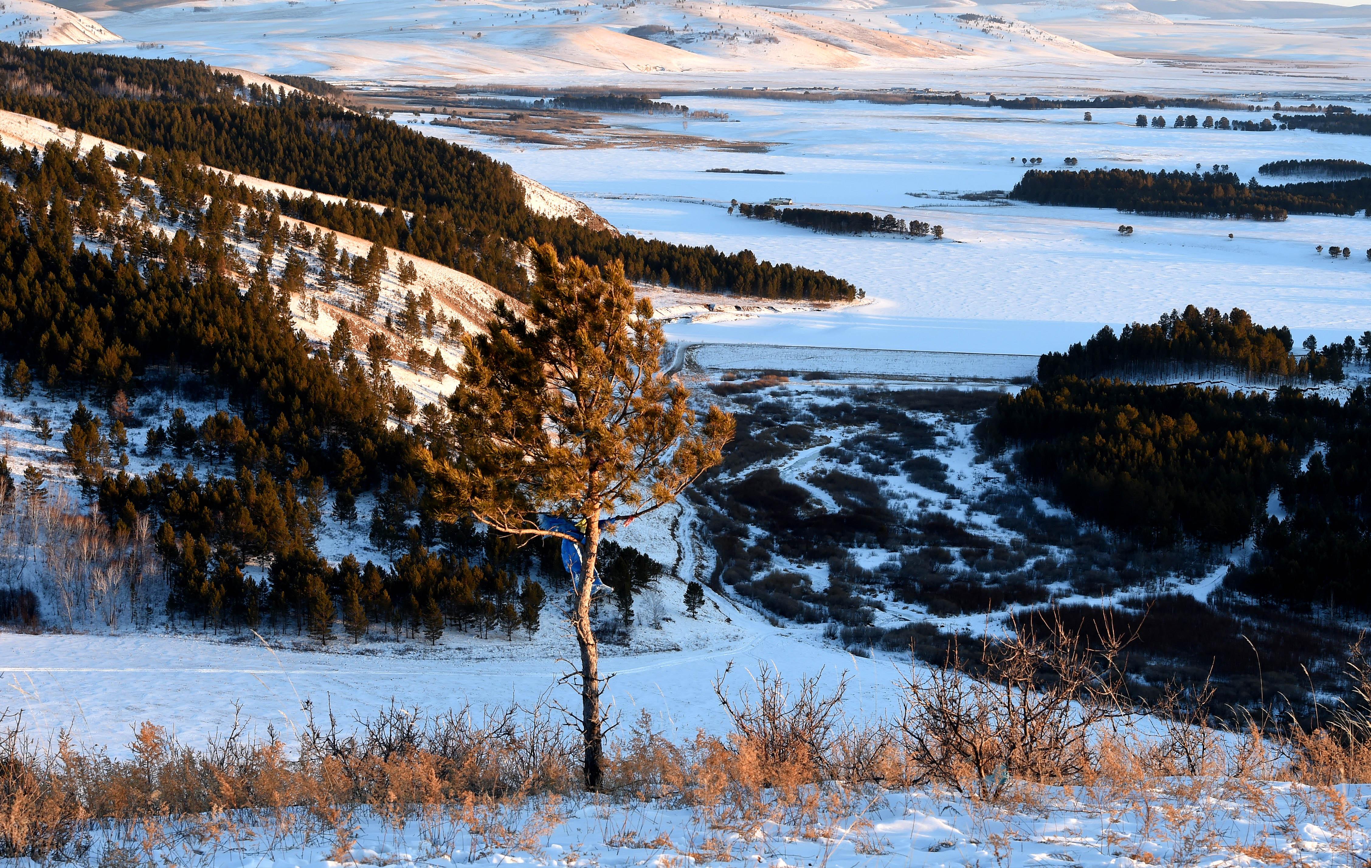 内蒙古莫和尔图冬日美景