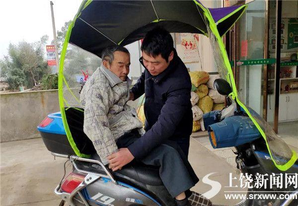 一次探视结情缘 李仁华一家照顾失独老人7年
