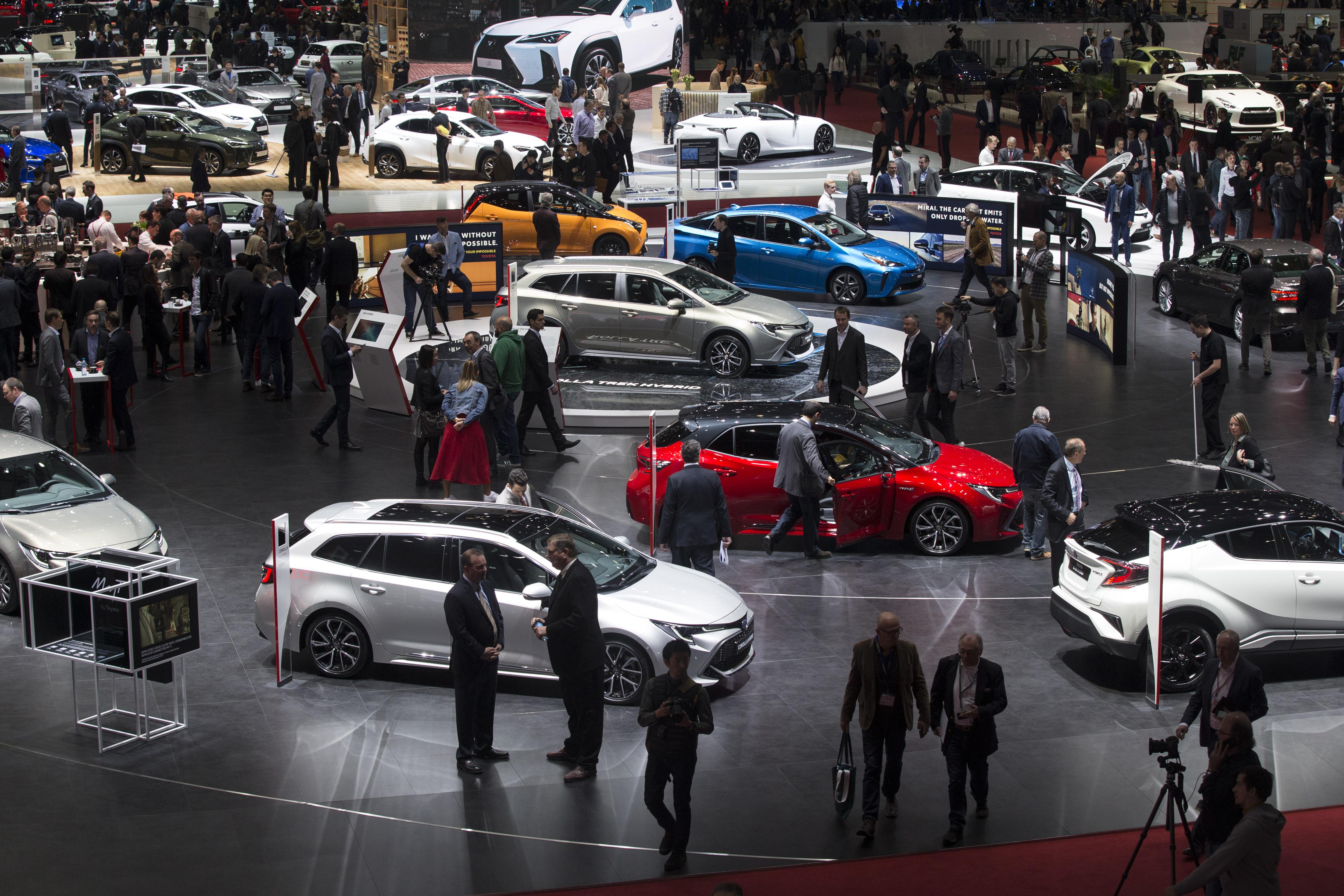 日内瓦国际车展举行媒体日预展