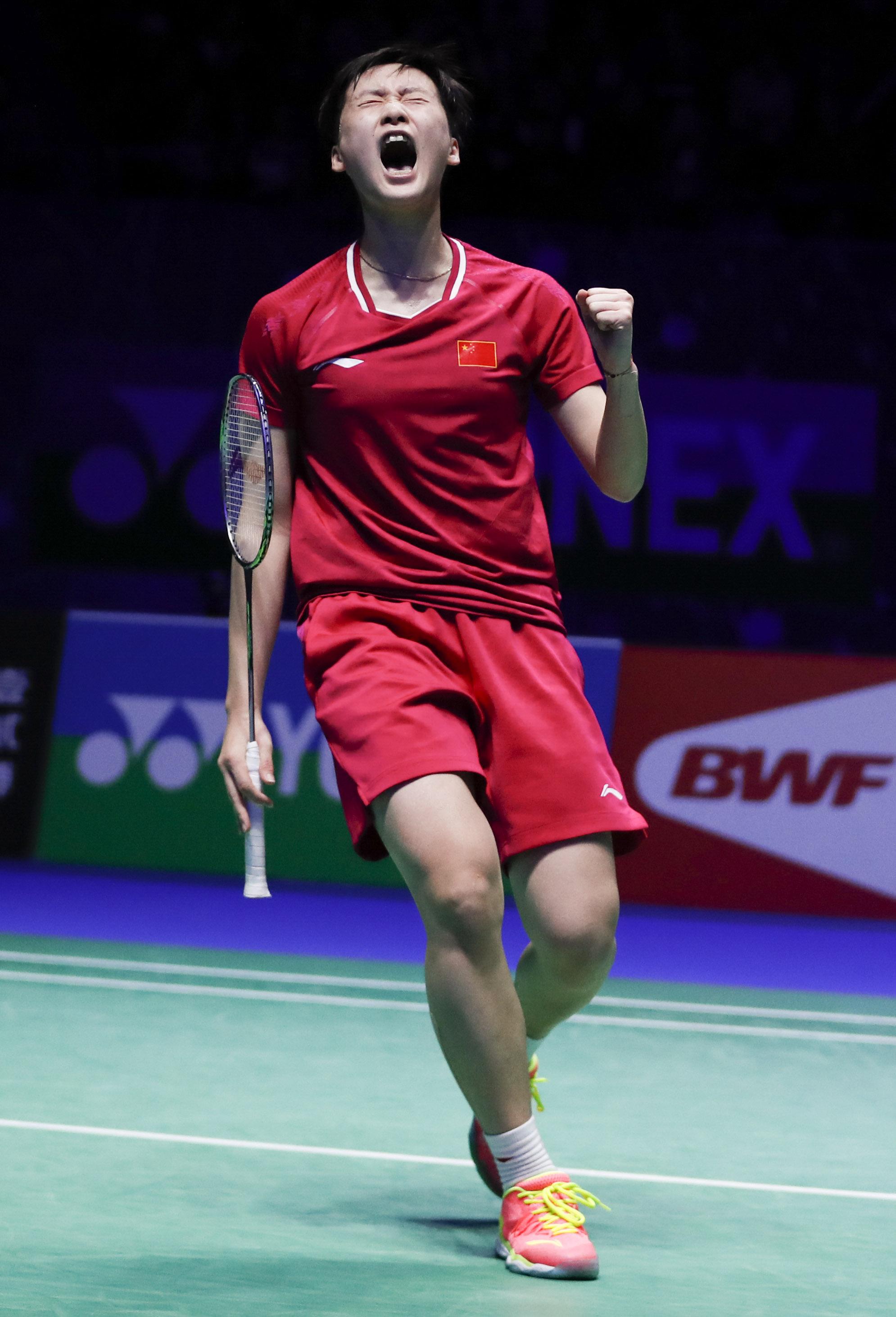 陈雨菲夺得全英公开赛女单冠军