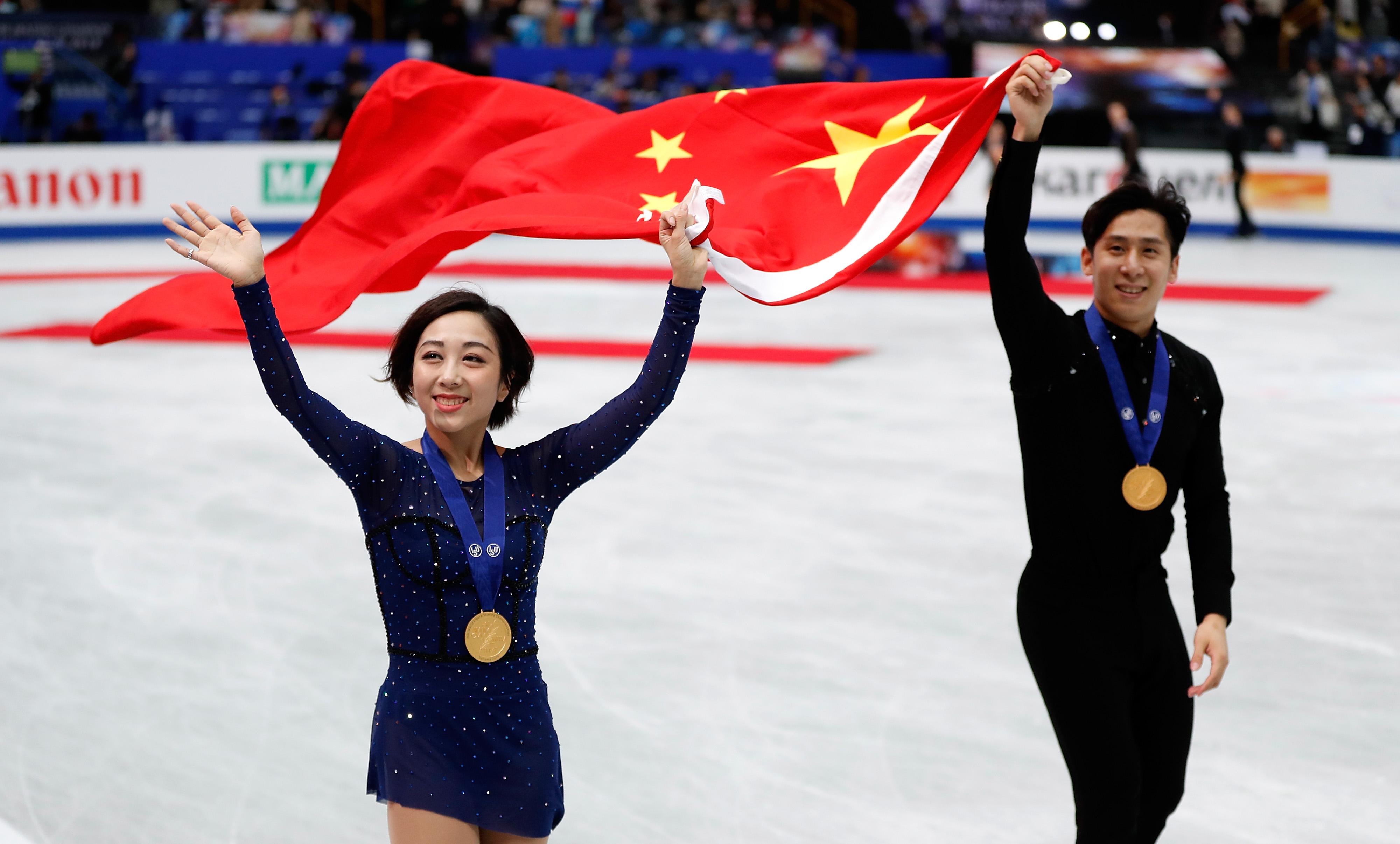 世锦赛:隋文静/韩聪获双人滑冠军