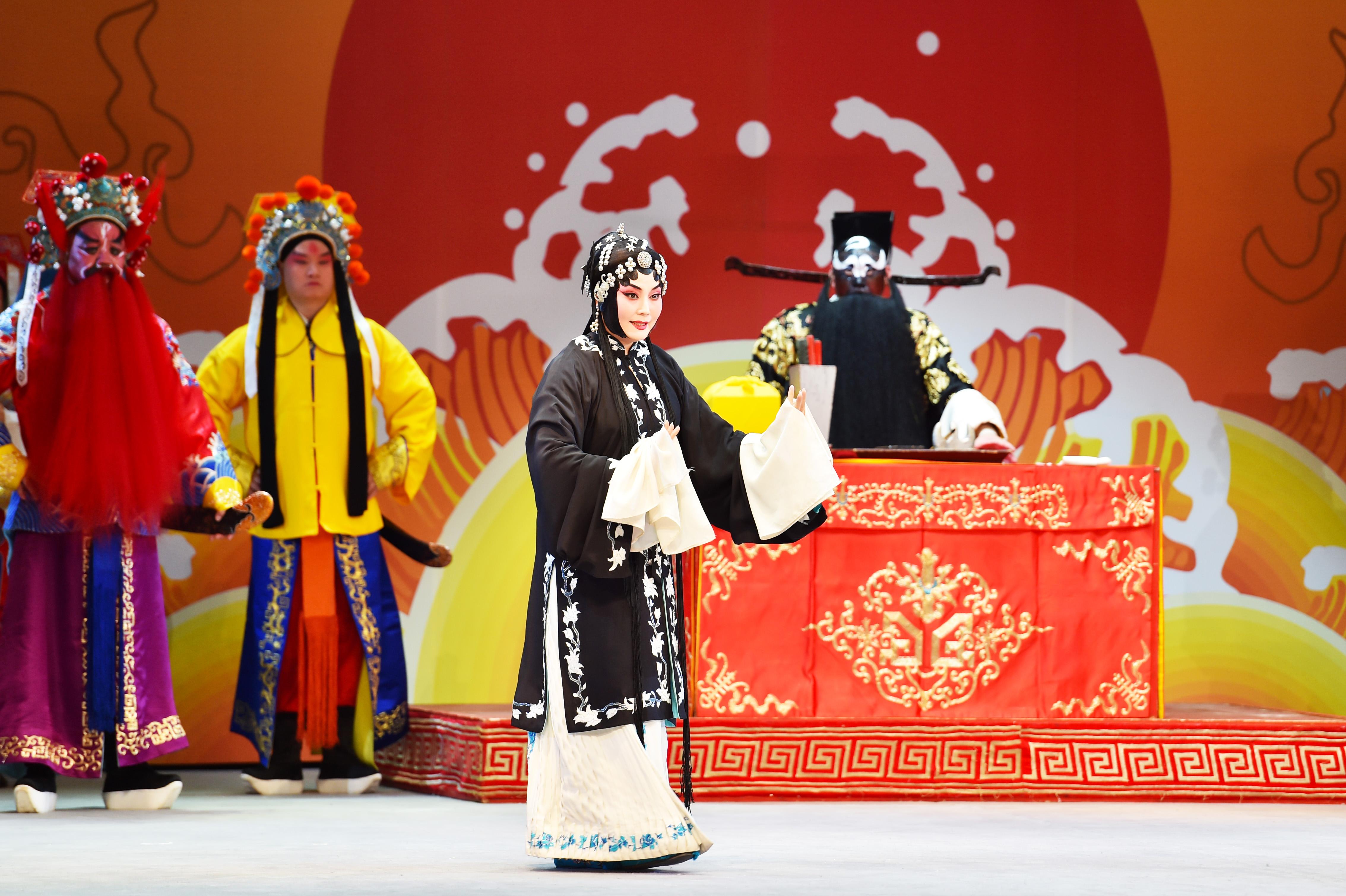 第29届中国戏剧梅花奖评剧折子戏现场竞演在南宁举行