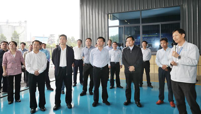 上饶市党政代表团在萍乡学习考察  积极培育壮大新兴产业 加快海绵城市建设步伐