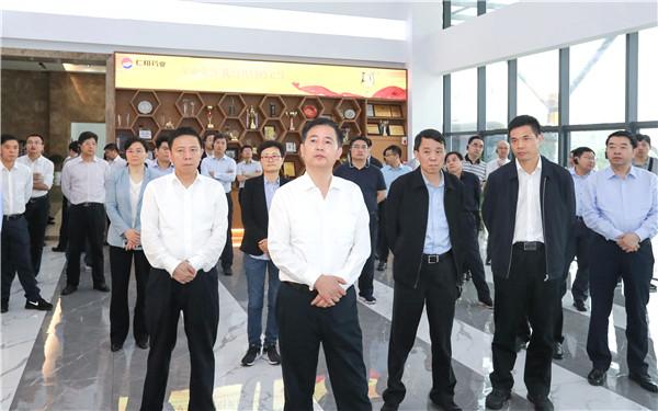 上饶市党政代表团在宜春学习考察